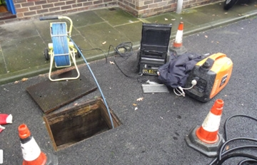 Drain Jetting Services In Calne