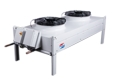 Compact Flat Dry Cooler For Industrial Use