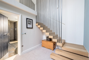 Bespoke Softwood Stairs With Balustrade