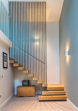 Bespoke Hardwood Stairs With Balustrade