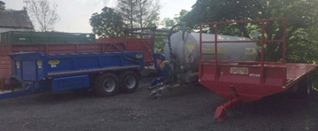 Agricultural Trailers For Hire