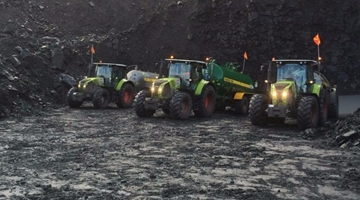 Agricultural Tractor Hire Services In Brecon