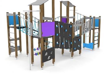 The Heights Timber Multiplay Unit
