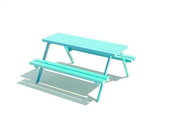 Picnic Durable Steel Table