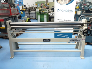 Sahinler 2050 x 95mm Geared Hand Operated Bending Rolls