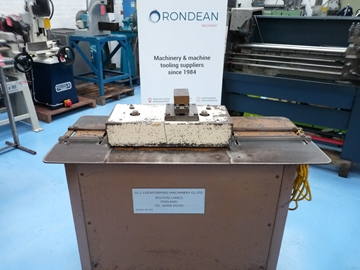 Lockformer with combined Edger Single Phase Electrics