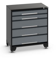 5 Drawer Tool Cabinet 800mm Wide G2002