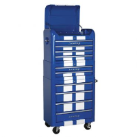 Sealey Retro Tool Chest in Blue with Racing Stripe SAP282BWS