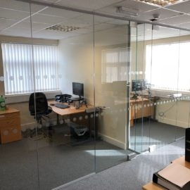 Glass Partitioning For Business