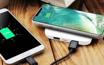 Promotional Hub Wireless Chargers