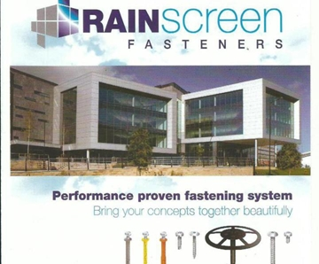 High Strength Rainscreen Fasteners