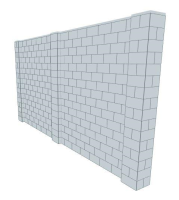 Simple Wall - 16 x 8 Ft
