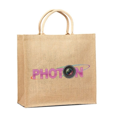 Biodegradable Printed Jute Bags