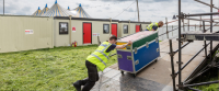 Modular Building Hire For Live Events