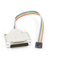 25way D Plug to 8 Way IDC Adapter Cable