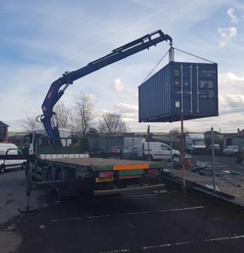 HIAB Lorry Cranes Rental Services In Liverpool