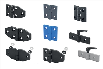 Technopolymer Hinges