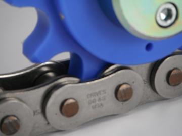 Drives Chain Lubricated by Rotalube