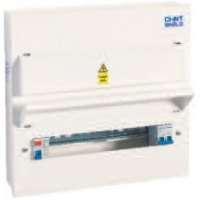 Consumer Unit -NX3-16S, RCD 16-way Metal Enclosed Unit with Incomer