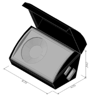 Cover for Turbosound TFM-420 speakers