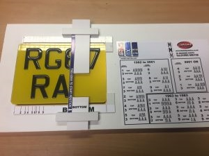 3D Motorcycle Number Plates