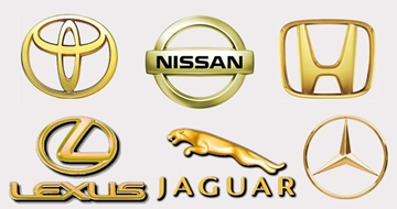 UK Manufacturers Of Gold Auto Badges