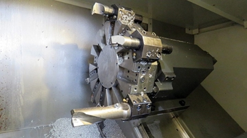 Live Tool Turning For High Quality Complex Components