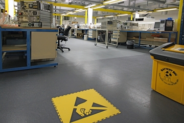 Anti Static Flooring For The Electronics Industry