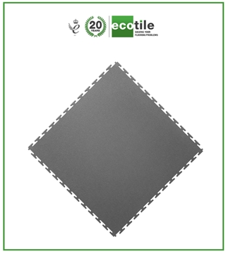 Ecotile Pvc Interlocking Floor Tiles