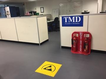 Anti Static Tiles To Lay Over Access Floors