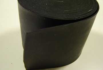 150 X 3 INSERTION RUBBER STRIP 10MTR COIL<br>RUB015B<br>215966/7  Peters
