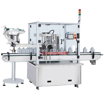 CCP-131 Continuous Pick and Place Capping Machine