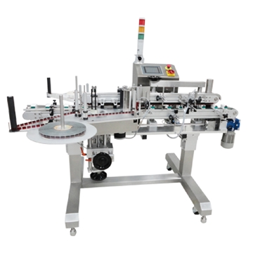 PL-252 Corner Wrap and Tamper Proof Labelling Machine