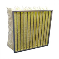 Fibreglass Bag Filter For The Automotive Industry
