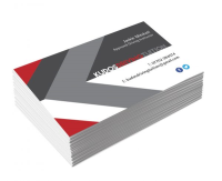 Soft-Touch Velvet Double Sided Business Cards