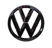 Front and Rear Gloss Black VW Transporter Badges