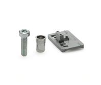 Adapter for PC support clamp for round tubes