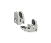 Panel support clamps