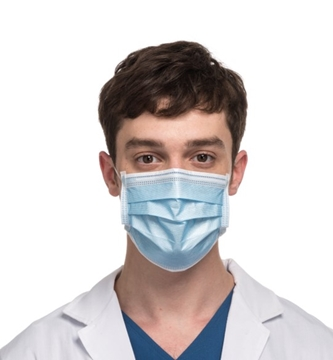 Supplier Of 3 Ply Disposable Face Mask With Ear Loop