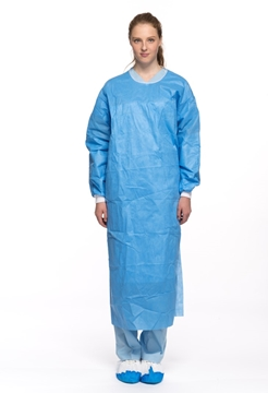 Fluid Resistant Isolation Gown