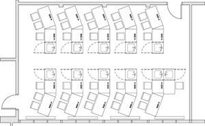 2D CAD Design Service For Office Space Planning