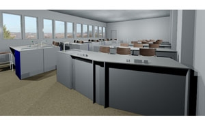3D CAD Design Service For Office Space Planning