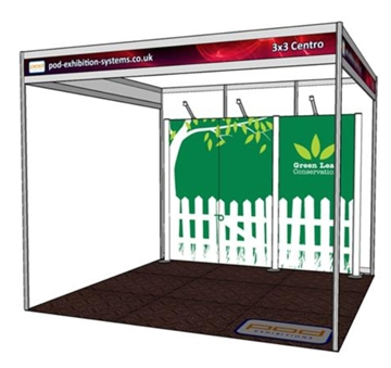 Bespoke Exhibition Stand Size