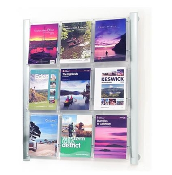 Wall Mounted Literature Stands