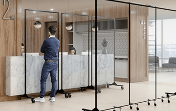 360 Clearview Room Divider
