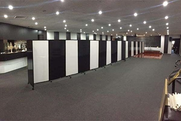 Freestanding Modular Partitioning Systems