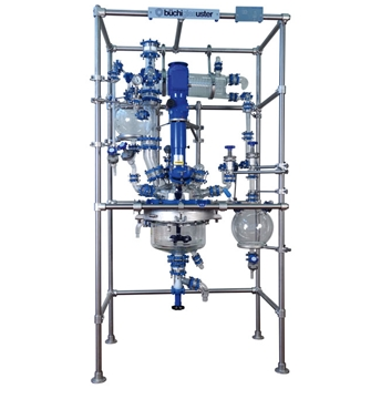 BR30-K Glass Jacketed Reactor with Distillation