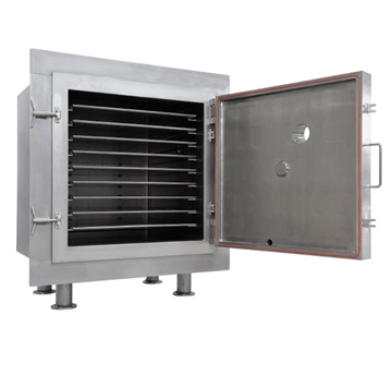Vacuum Tray Dryer For Easy Cleaning