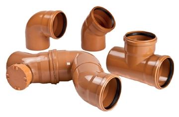 Custom Size Sewer Pipe Fittings