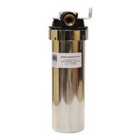 "10"" Stainless Steel Water Filter Housing"